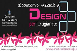 concorso design per artigianato caltavuturo sicilia