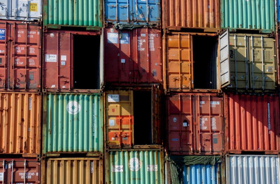 container porto di genova genoa