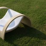 poltroncina sara in legno per giardino outdoor design