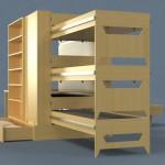 letto modulare dieci design