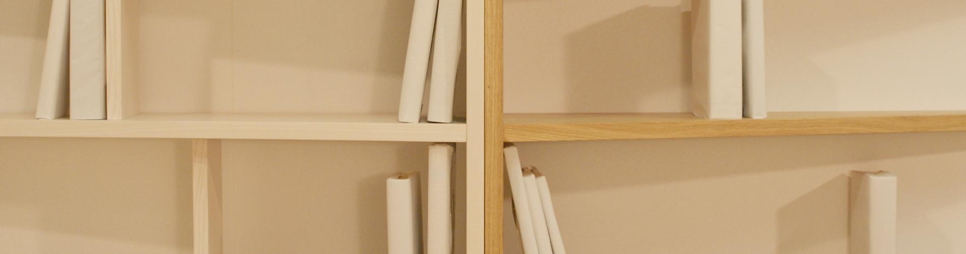 libreria in legno onya design tigullio chiavari