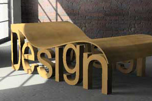 chaise longue design oriana in legno