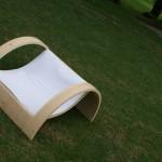 poltroncina sara in legno per giardino outdoor