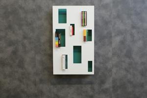 libreria in legno design genova inventalegno emma