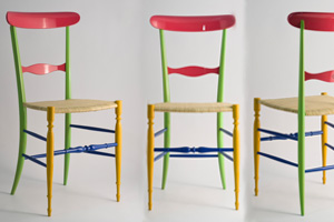 Chiavarina Supercolor levaggi sedia